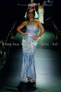 fashion designer Юлия Ааль.(Julia Aal`)Неделя моды от Эстет. Показ коллекции *Цветочная История*